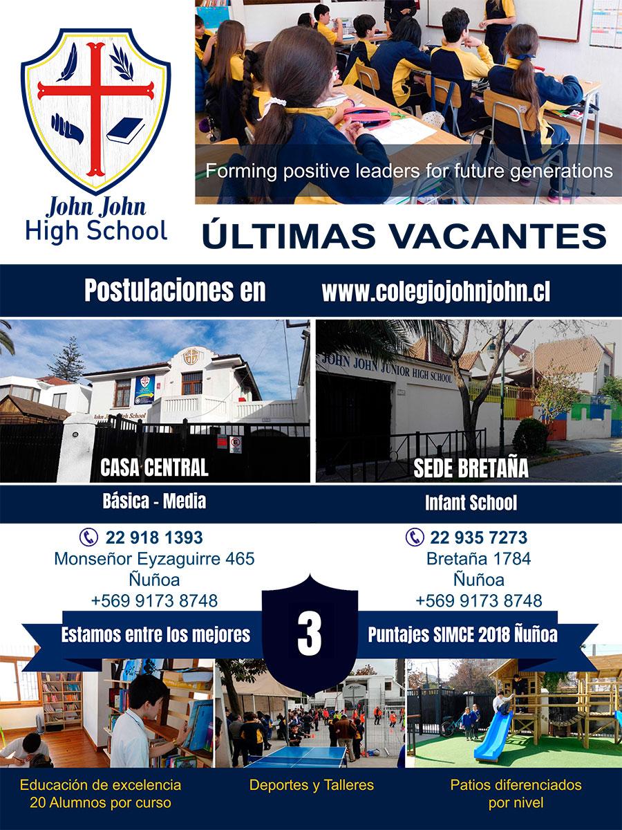 Colegio Ñuñoa - Admisión 2019