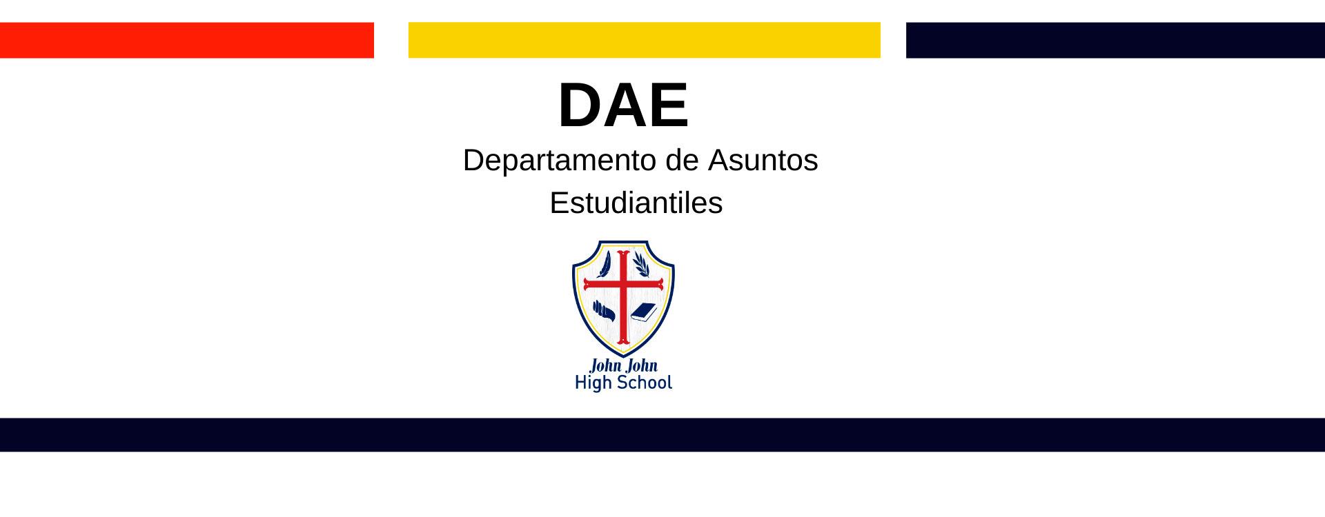 Departamento de asuntos estudiantiles DAE,- Colegio Ñuñoa